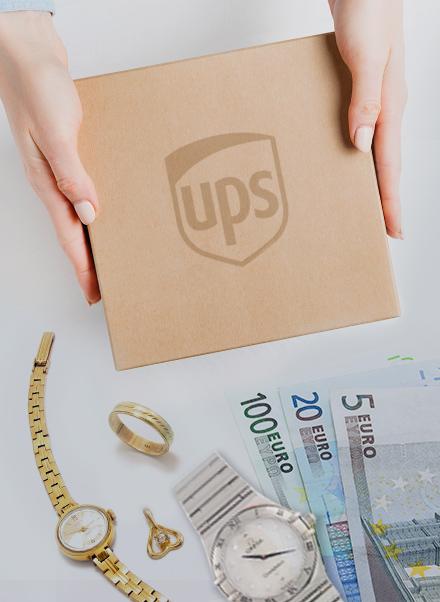 Goldankauf online per Post oder UPS