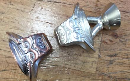 Schmuckring-Anfertigung - 925 Silber