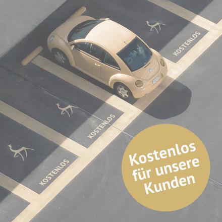 Kostenloser Parkplatz in der Altstadt