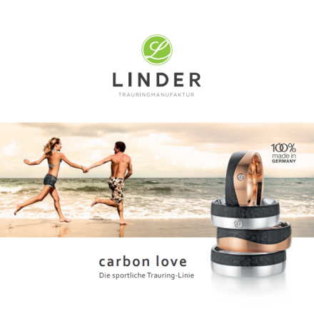 Linder Trauringmanufaktur - carbon love