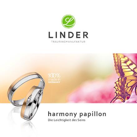 Linder Trauringmanufaktur - harmony papillon