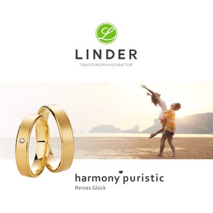 Linder Trauringmanufaktur - harmony puristic