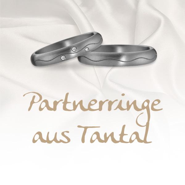 Partnerringe aus Tantal