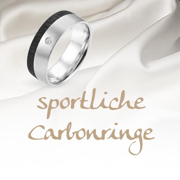 sportliche Carbonringe