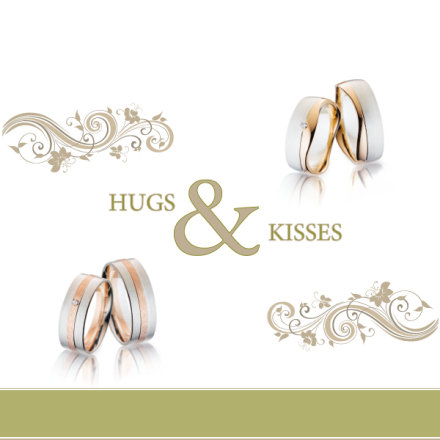 Steidinger Ringe - Hugs and Kisses