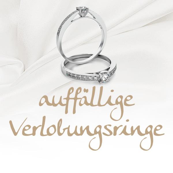 auffällige Verlobungsringe