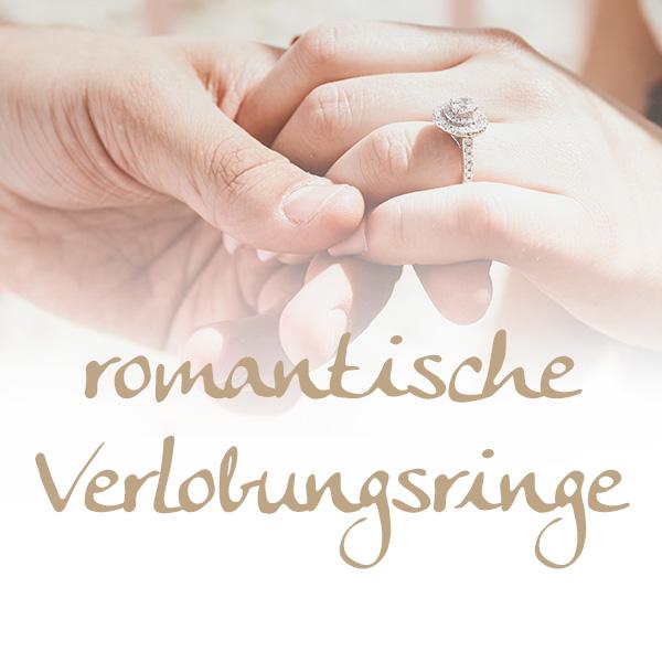 romantische Verlobungsringe