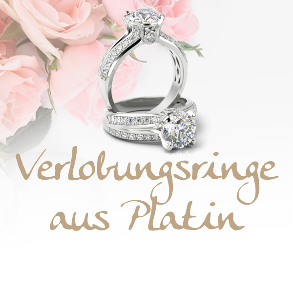 Verlobungsringe aus Platin
