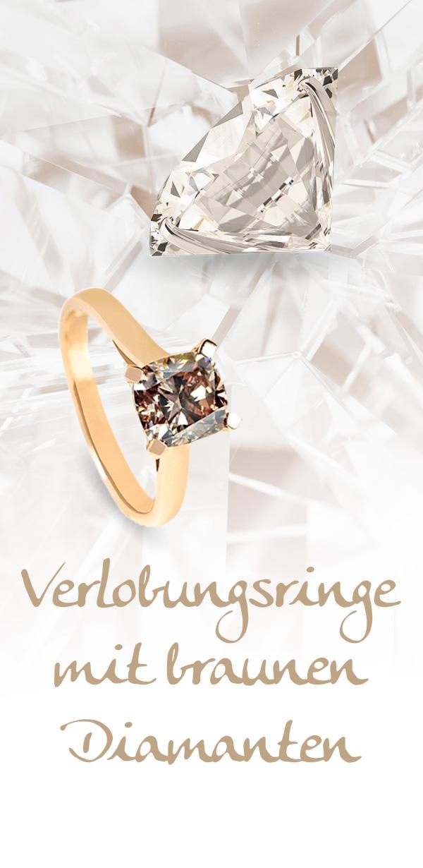 Verlobungsringe mit braunen Diamanten