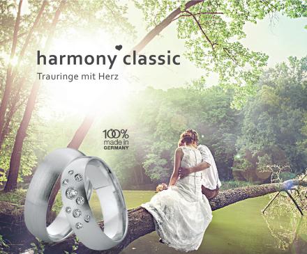 harmony classic - Trauringe mit Herz